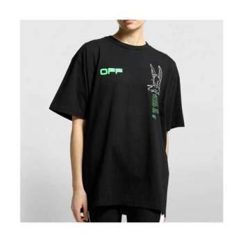 (놀면 뭐하니 비 착용) 오프화이트 버니 티셔츠 $241 → $135