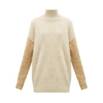 버버리 오타마 플러피 넥 스웨터 $1,185 → $288