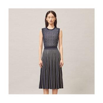 (이진 착용) 토리버치 플리츠 스웨터 드레스 $498 → $179