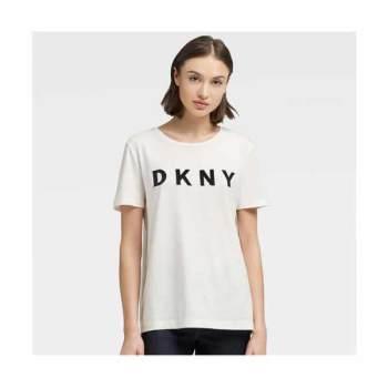 (아이린, 문정원 착용) DKNY 로고 티셔츠 $39 → $20.3