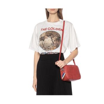 (나 혼자 산다 유이 착용) 골든구스 프린트 티셔츠 185유로 → 129유로