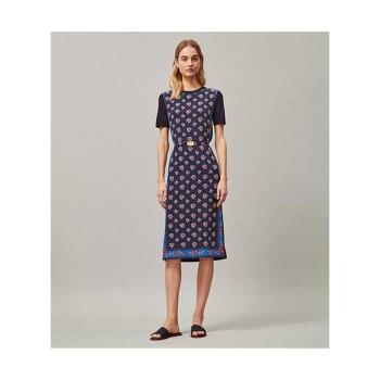 토리버치 프린트 스웨터 드레스 $448 → $188.3