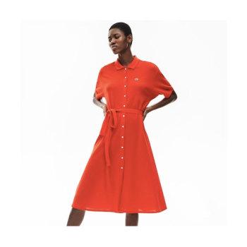 (최화정 착용) 라코스테 벨티드 폴로 드레스 $175 → $121.99
