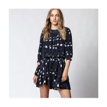 (런닝맨 선미 착용) 쟈딕 앤 볼테르 ROOKA 도트 실크 드레스 $498 → $199
