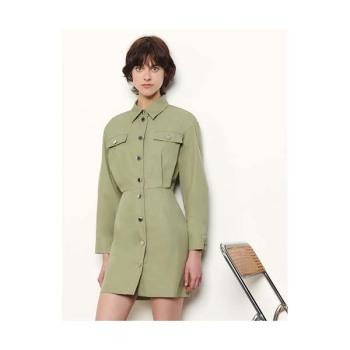 (편의점 샛별이 김유정 착용) 산드로 사파리 스타일 드레스 $370 → $148