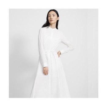 띠어리 비대칭 셔츠 드레스 $495 → $118.8