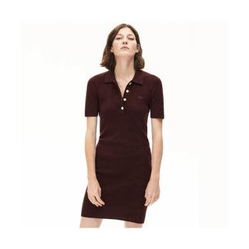 라코스테 반팔 니트 폴로 드레스 $175 → $97.59