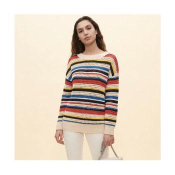 (출사표 나나 착용) 끌로디 피에로 MONPULLE20 스트라이프 스웨터 185유로→ 83.25유로