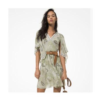 (이민정, 이사배 착용) 마이클 마이클 코어스 페이즐리 프린트 드레스 $195 → $87.75