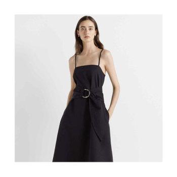 클럽 모나코 벨티드 에이라인 슬립 드레스 $229 → $90
