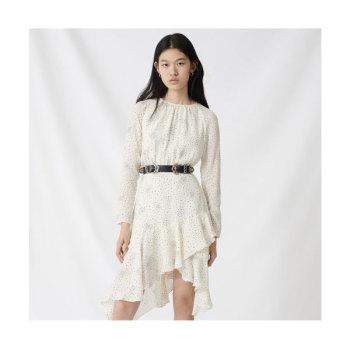 마쥬 220RETO 별 프린트 비대칭 드레스 $415 → $124.5