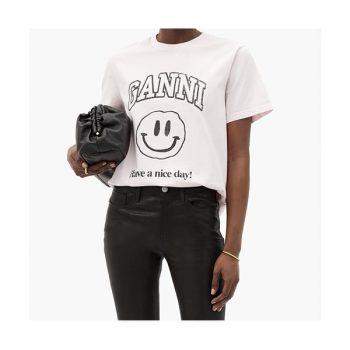(바퀴 달린 집 하지원 착용) 가니 스마일 티셔츠 $100