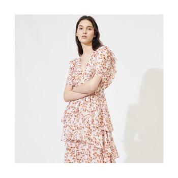 (나은, 모모 착용) 마쥬220ROMINA 러플 맥시 드레스 $525 → $157.5