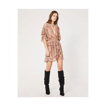 이로 Buoux 러플 장식 브이넥 드레스 $465 → $139.5 (FINAL SALE)