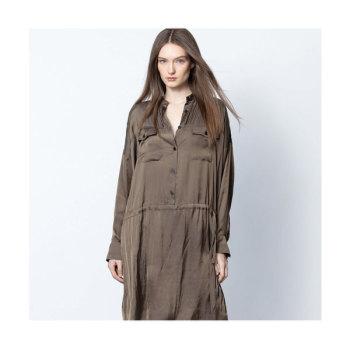 쟈딕 앤 볼테르 ROMEO 새틴 드레스 $498 → $179.1