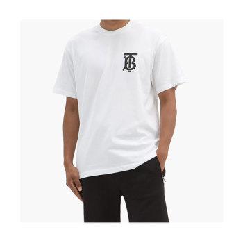 (1박 2일 라비 착용) 버버리 맨 에머슨 TB 프린트 티셔츠 $376