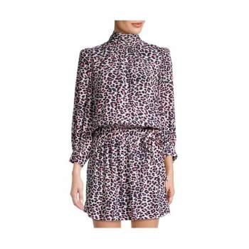 (김빈우 착용) 쟈딕 앤 볼테르 RIVALI 레오파드 드레스 $398 → $129.99