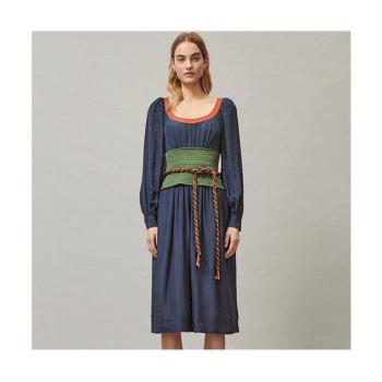 토리버치 타이 웨이스트 드레스 $798 → $164.25