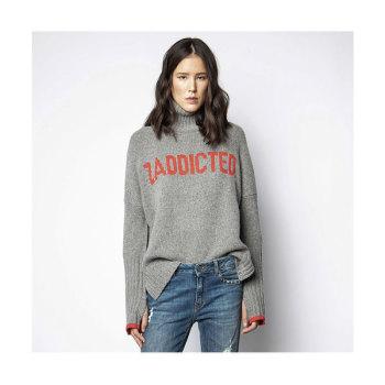 (이효리 착용) 쟈딕 앤 볼테르 알마ZADDICTED 레터링 스웨터 $368→ $257.6