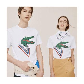 라코스테 X 장 미셀 티시에 콜라보 악어 티셔츠 $85 → $58.99