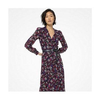 마이클 마이클 코어스 플로럴 조젯 셔츠 드레스 $175 → $131.25