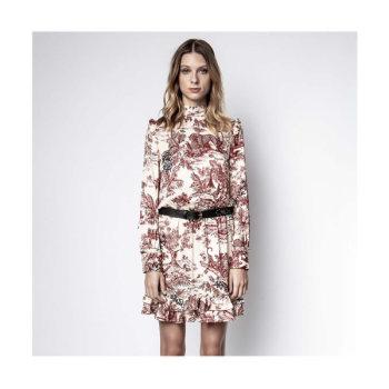 (이효리 착용) 쟈딕 앤 볼테르 ROCKET 새틴 드레스 $458→ $320.6
