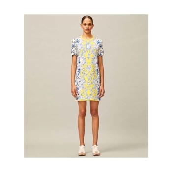 토리버치 프린트 티셔츠 드레스 $228 → $159.6