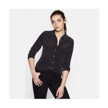(수지,손예진,신민아 착용) 이큅먼트 슬림 시그니처 실크 셔츠 $230→ $149.5