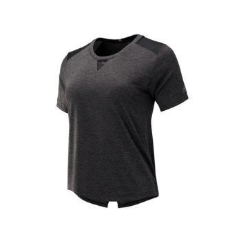 조씨네 뉴발란스 데일리 딜 - 우먼 반팔 티셔츠 (블랙 헤더) $44.99 → $12.99