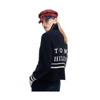 (수영 착용) 타미 힐피거 골지 터틀넥 스웨터 $169.5→ $101.7