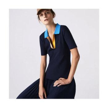 (김연아 착용) 라코스테 폴로 칼라 스웨터 $145