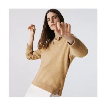 라코스테 브이넥 울 스웨터 $155 → $76.99