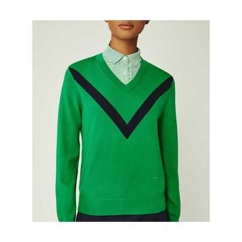 토리버치 MERINO CHEVRON 스웨터 $248 → $199