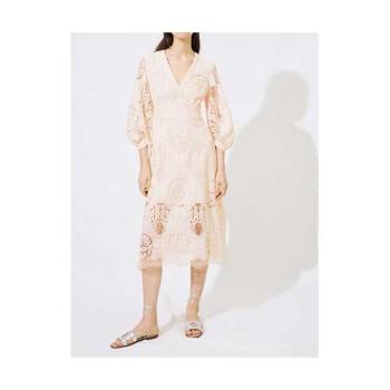 마쥬 220ROMY 기퓌르 드레스 $445 → $133.5