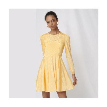 (아이유 착용) 마쥬220ROSEAU 스케이터 드레스 $295 → $88.5
