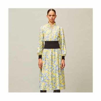 (스테파니 리 착용) 토리버치 립 웨이스트 드레스 $598 → $169~$199