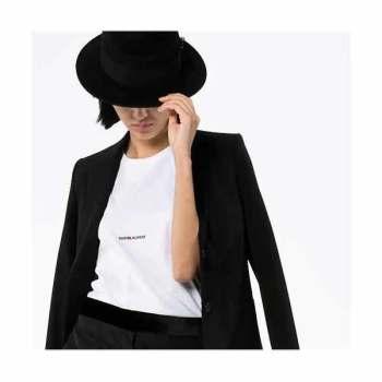 (박민영 착용) 생 로랑 로고 프린트 티셔츠 360,000~416,000원