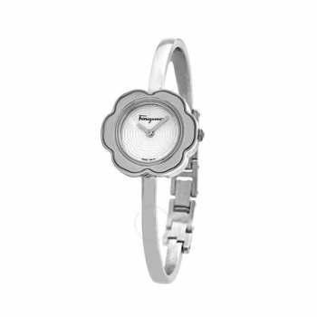 (이하늬 착용) 페라가모 피오레 실버 다이얼 시계 $980 → $239