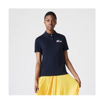 라코스테 우먼 컬러 크로커다일 폴로 티셔츠 $110 → $65.99