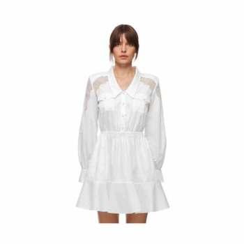 (트와이스 미나 착용) 셀프 포트레이트 레이스 셔츠 드레스 280파운드