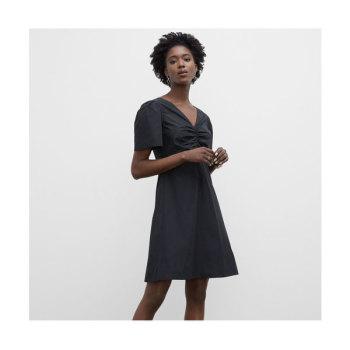 클럽 모나코 주름 장식 브이넥 드레스 $229 → $74.97