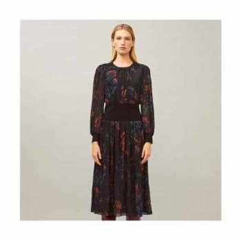 (스테파니 리 착용) 토리버치 립 웨이스트 드레스 $598 → $127~$150