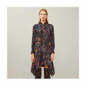 (신애라 착용) 토리버치 언발란스 코라 드레스 $498 → $111.75