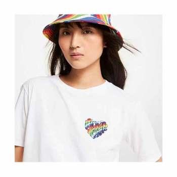 (정채연 착용) 마이클 마이클 코어스 레인보우 오가닉 티셔츠 $68