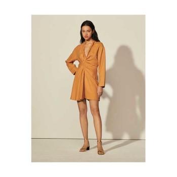 (펜트하우스3 이지아 착용) 산드로 팬시 네크라인 드레스 225유로 → 112.5유로