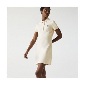 라코스테 메이드 인 프랑스 오가닉 코튼 폴로 드레스 $195 → $116.99