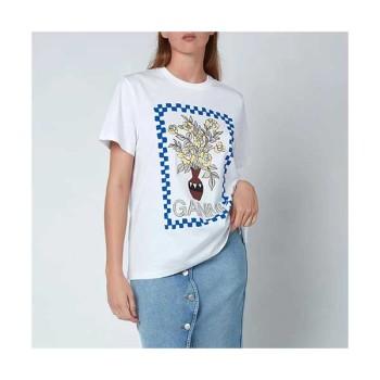(김희선 착용) 가니 베이직 코튼 티셔츠 75파운드→ 56.25파운드
