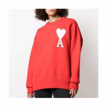 (김연경 착용) 아미 하트 에이 로고 스웨터 541,000~655,000원