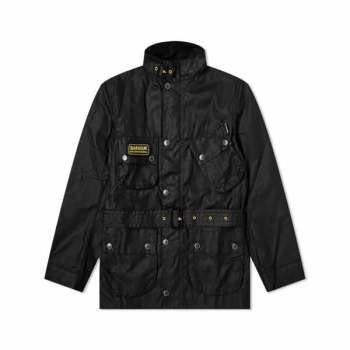 바버 맨 인터내셔널 슬림 왁스 자켓 $450 → $186.15