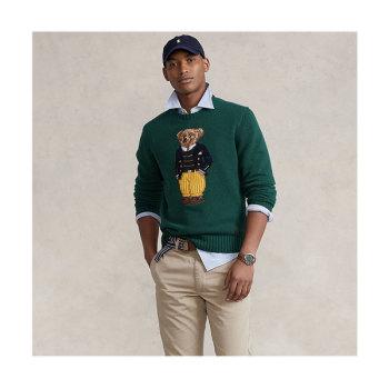 (피오 착용) 폴로 랄프로렌 맨 폴로 베어 울 스웨터 $398
